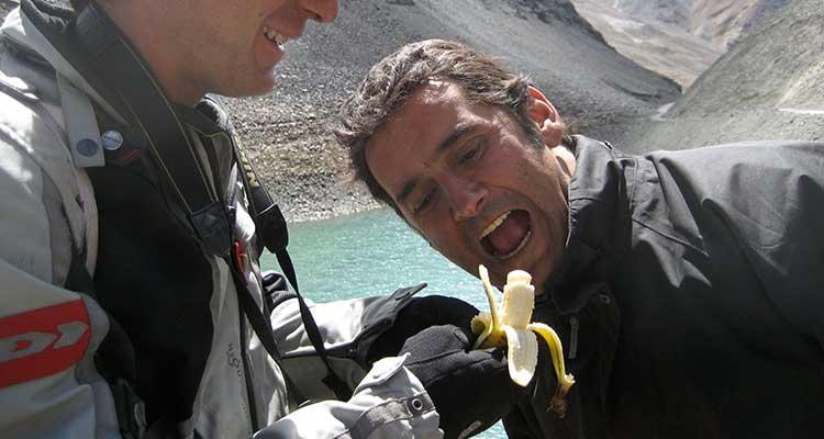 Garlic-Banana en el Khardung La