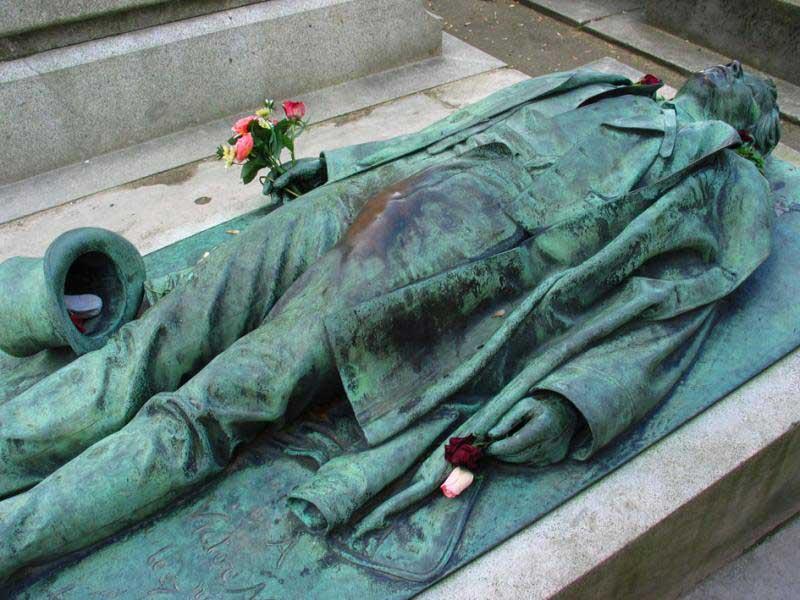 La tumba de Victor Noir