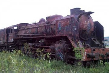 locomotora mikado Villarcayo