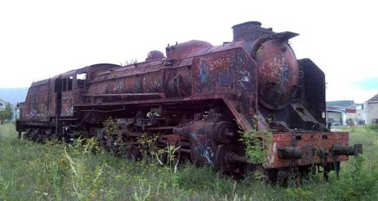 La locomotora Mikado