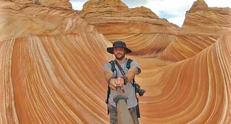 Selfie en 360º de la vuelta al mundo
