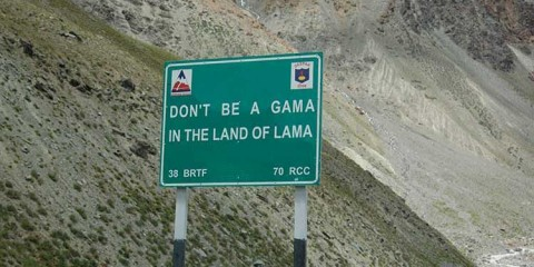 Don't be a Gama in the land of Lama