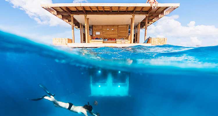 Manta Resort, una habitación submarina con precio por las nubes