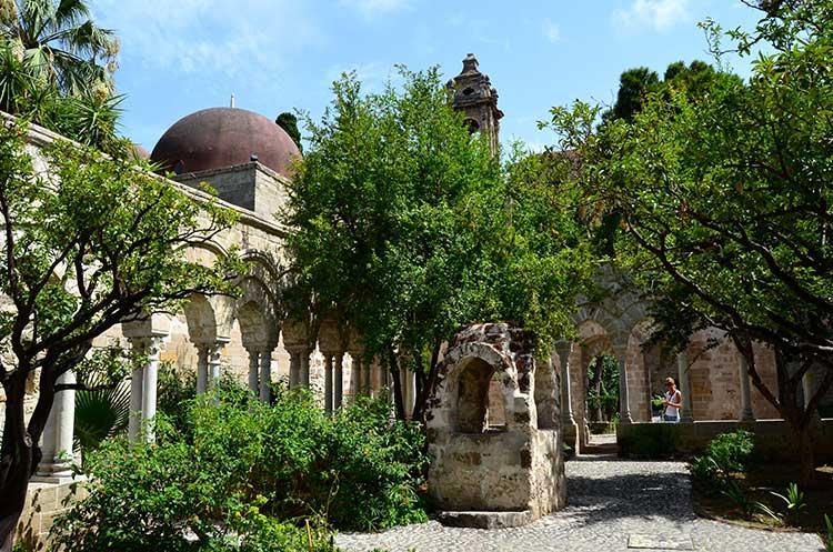Iglesia de San Giovanni degli Eremiti de Palermo