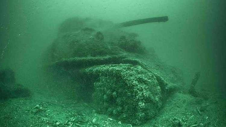 Los restos del Día D; Desembarco de Normandía