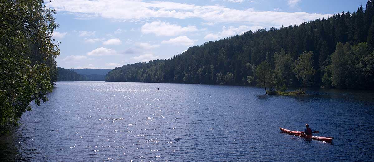 Nøklevann, un oasis de paz escondido en Oslo