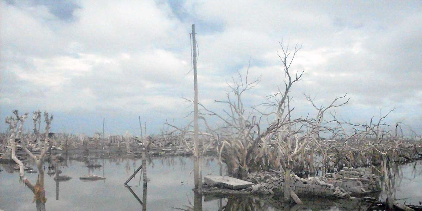 Villa Epecuén, el retorno del diluvio