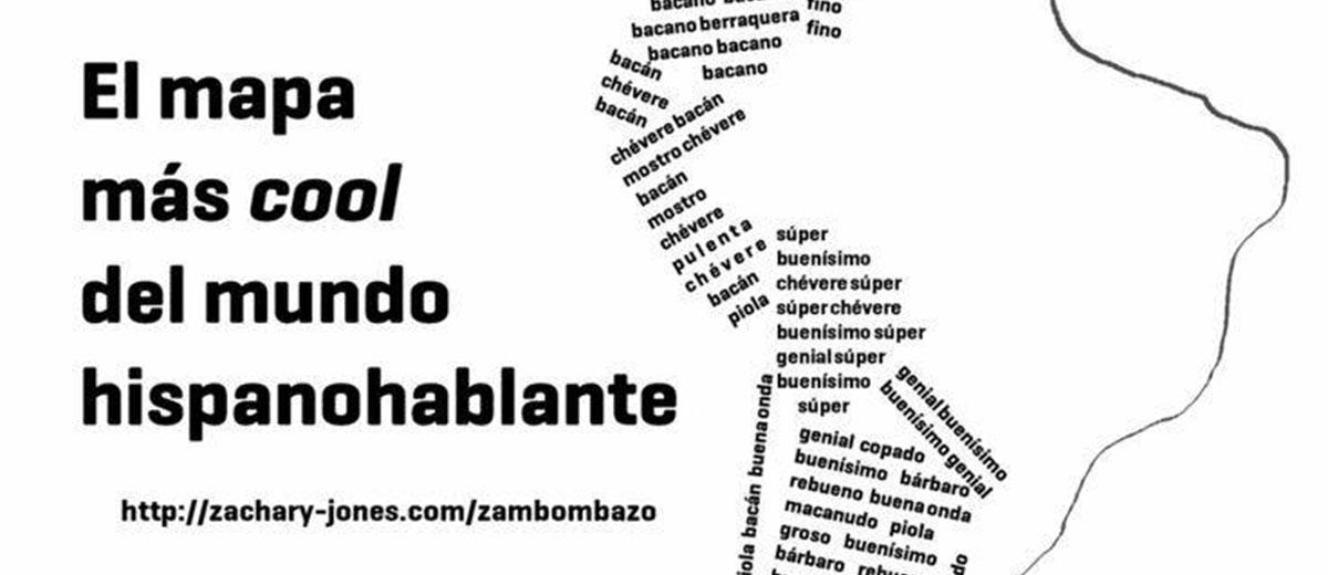 El mapa más cool del mundo hispanohablante