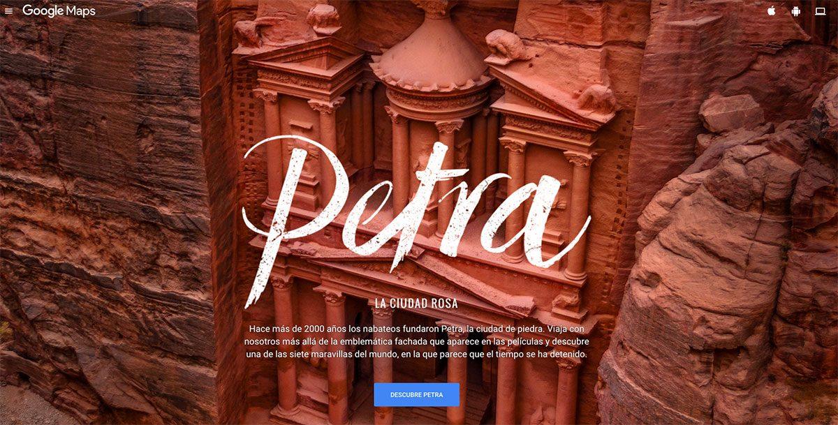 Visita virtual a Petra