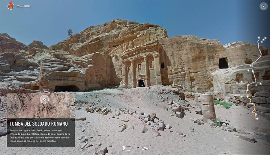 tumba-romano-viaje-virtual-petra-viajes-inusuales