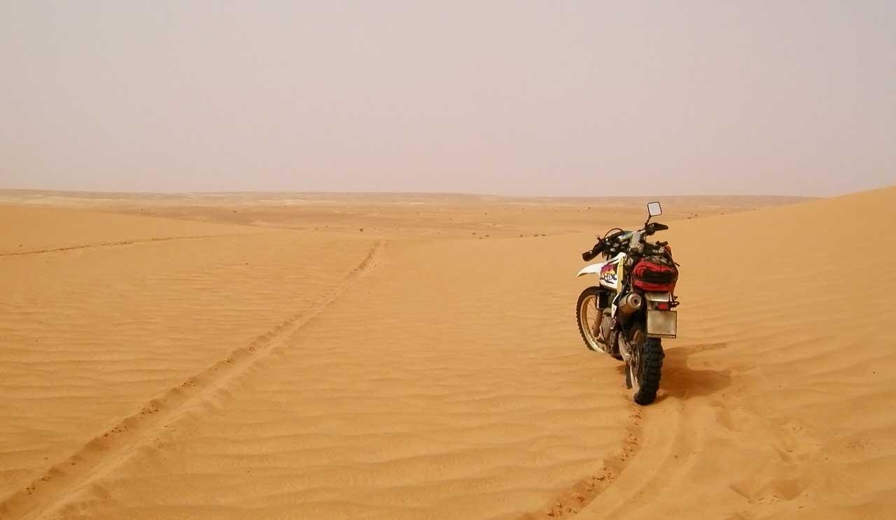 Preparando el viaje a Senegal en moto