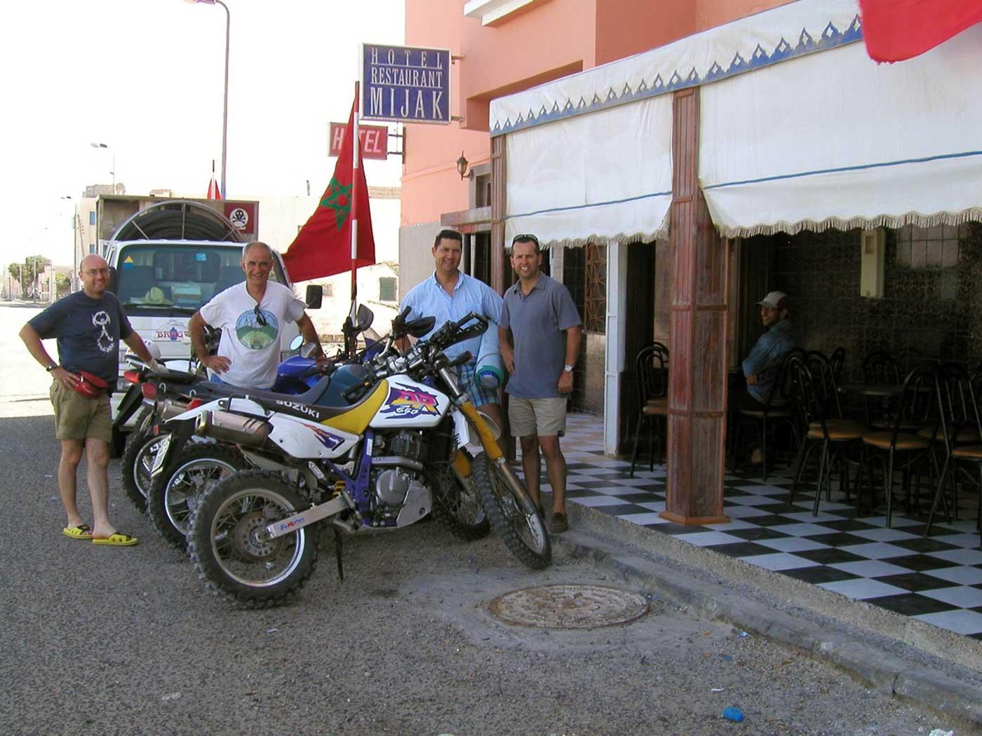 Día 6, en Dahkla preparando la entrada en Mauritania
