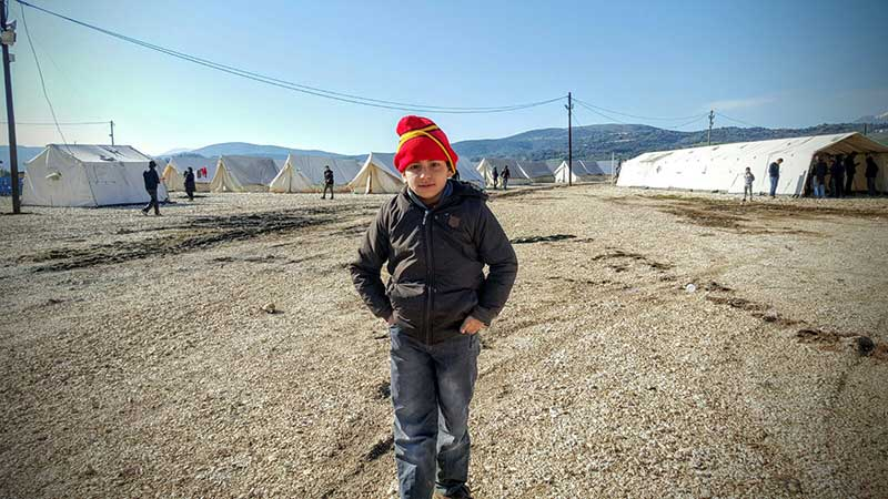 Un joven ayudante. Foto: Javier Pérez de los Cobos