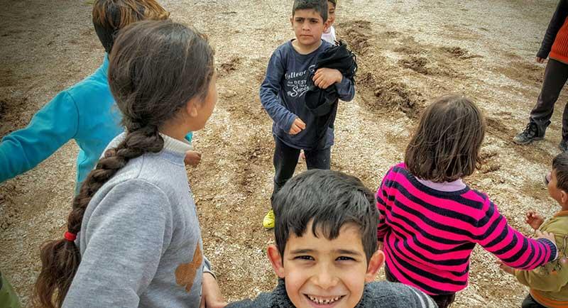 Niños jugando. Foto: Javier Pérez de los Cobos