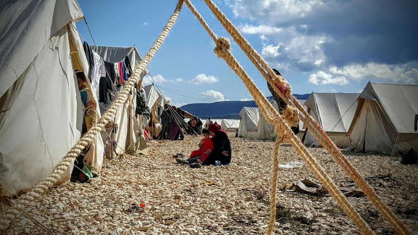 Tercer día con los refugiados sirios en Ioannina