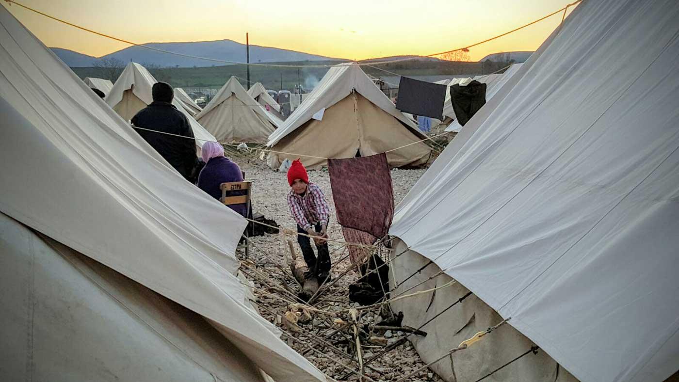 Cuarto día con los refugiados sirios en Ioannina