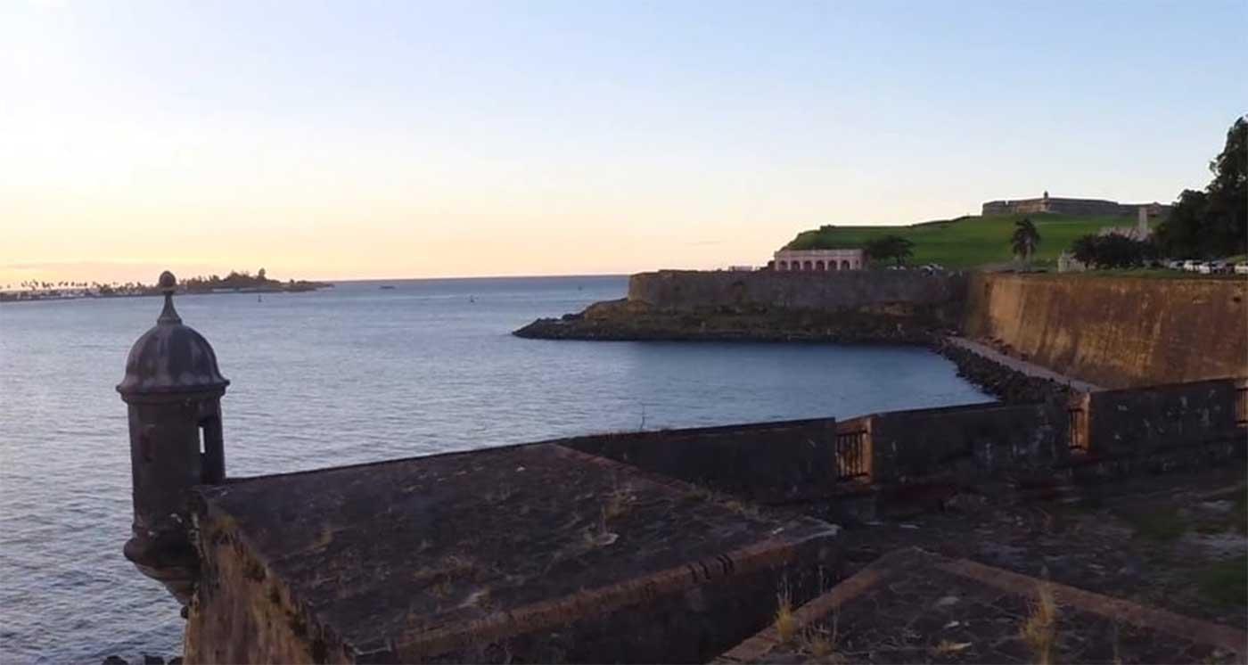 Puerto Rico a vista de dron