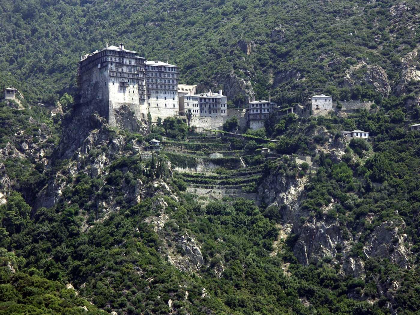 La complicada visita al Monte Athos