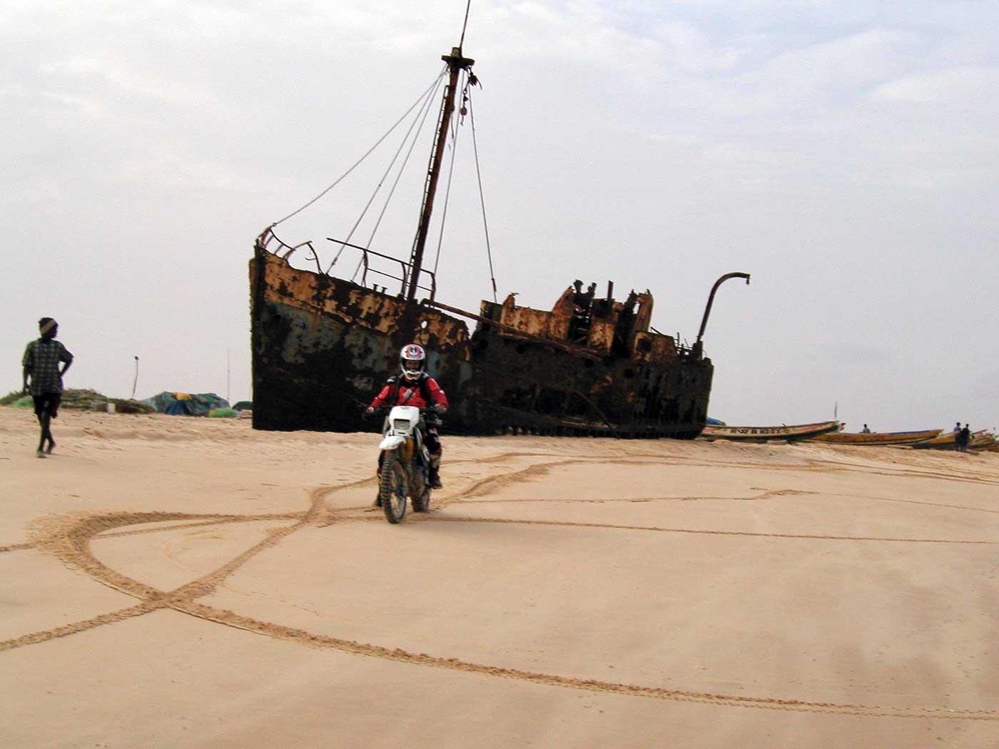 Día 10 de Nouamghar a Nouakchott por la playa