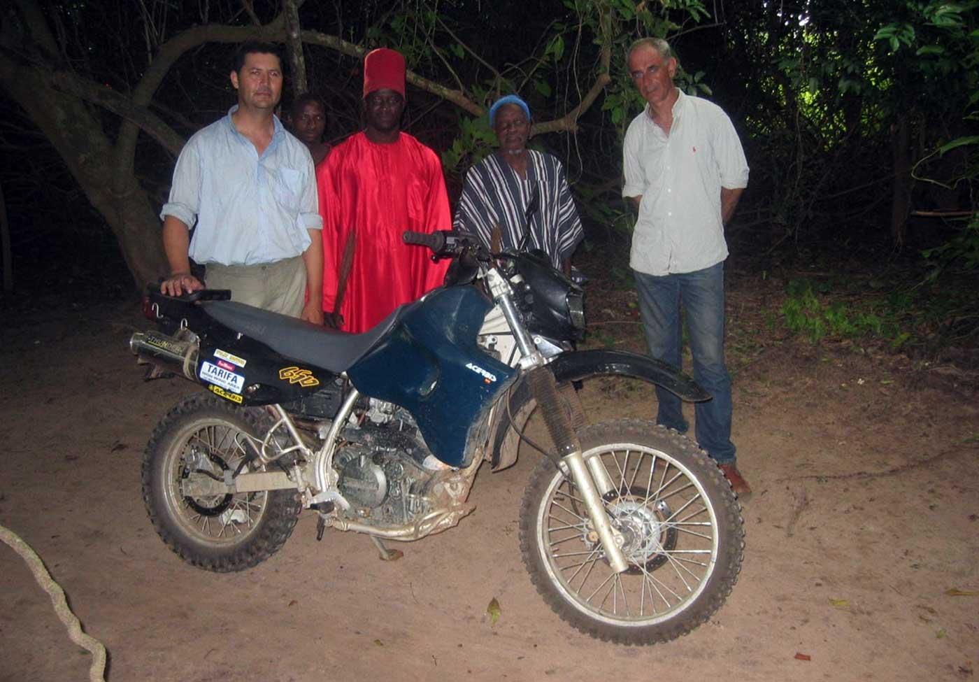 Recepción Real en Oussunye