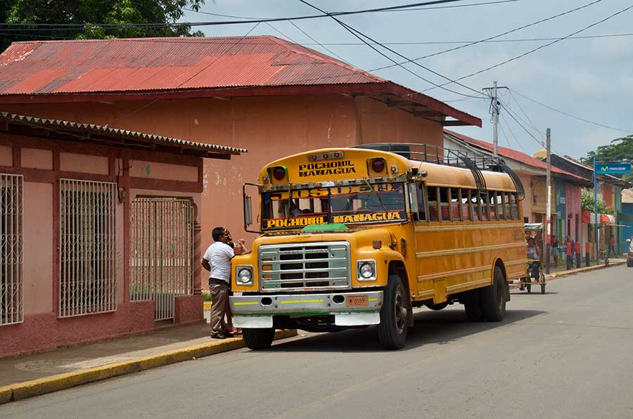 Autobús nicaragua