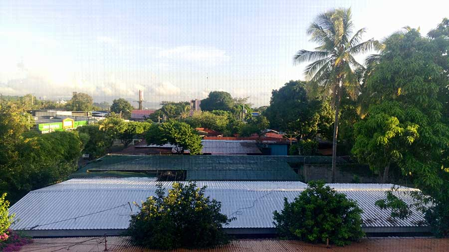 Vista hotel Managua