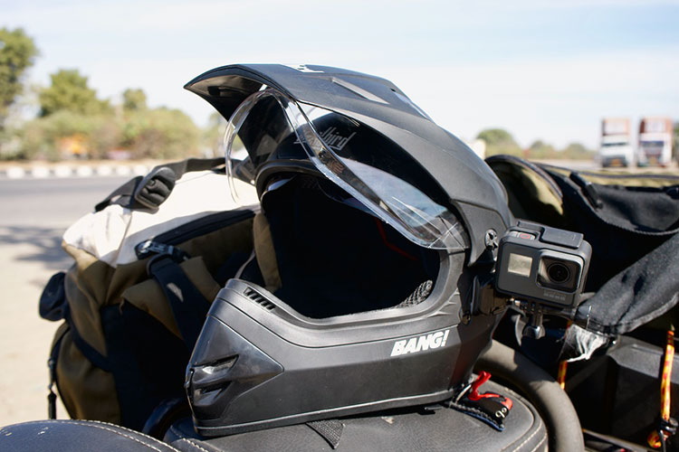 Casco moto india
