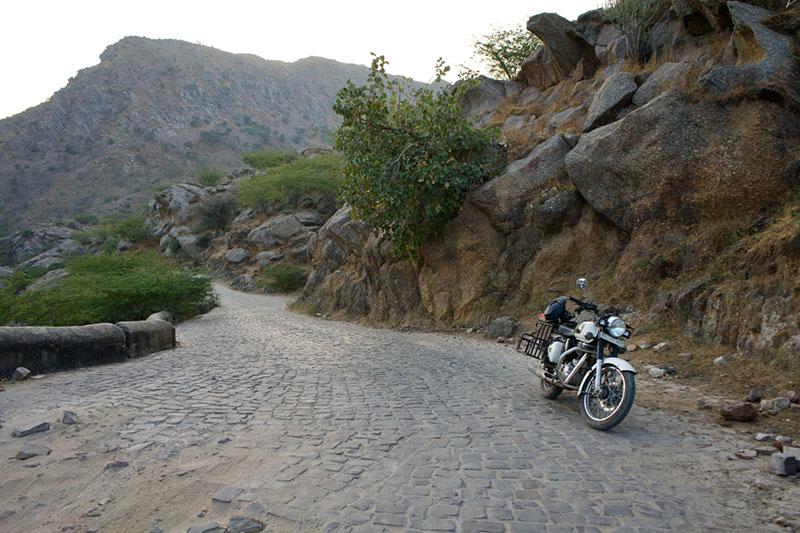Carretera hacía Ajanpay